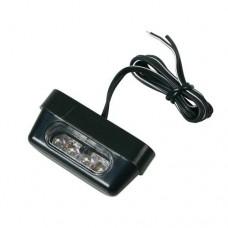 Univerzális rendszámtábla világítás motorra 4 LED