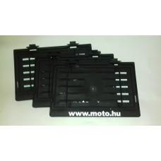 Moto.hu Univerzális Rendszámkeret fekete
