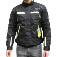 Rush M GS30 kabát fekete-neon