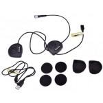 Shad Bluetooth headset zárt sisakhoz telefon/GPS/zene BC22