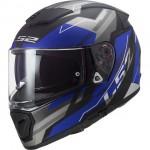 LS2 FF390 zárt bukósisak Breaker Beta matt kék-szürke-fekete