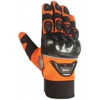 BOS GMC14 motoros kesztyű narancssárga