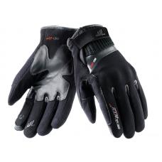 Seventy Degrees Bőr Téli kesztyű Fekete-Szürke SD-C17