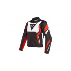 Dainese Edge Tex motoros kabát piros-fekete-fehér