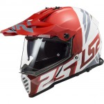 LS2 MX436 Pioneer Evo Evolve fehér-piros