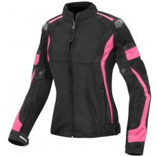 Berik Mesh-X Ladies Női Motoros Kabát Rózsaszín