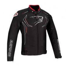 Berik Faith Motoros Kabát Fekete-Piros