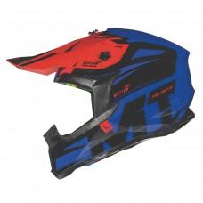 MT Falcon Weston Cross bukósisak kék-piros-fekete