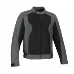 Bering Riko nyári motoros kabát fekete-szürke