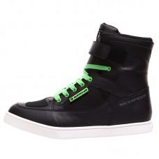 Bering Jungle motoros cipő fekete-zöld
