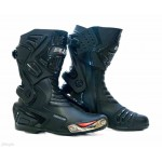 Plus Racing Predator motoros csizma Fekete