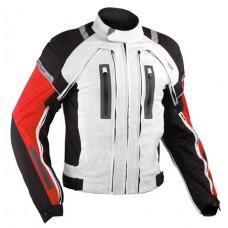 A-pro Aerotech 4in1 motoros kabát fehér-piros