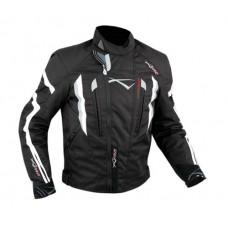 A-pro T53 motoros kabát fekete-fehér
