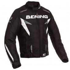Bering Fizio motoros dzseki fekete-fehér-szürke