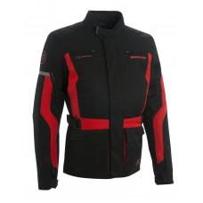 Bering Lucas motoros kabát fekete-piros