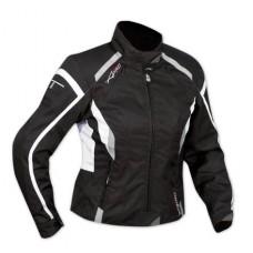 A-pro Butterfly női motoros kabát fekete-fehér