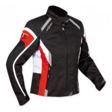 A-pro Butterfly női motoros kabát fekete-piros