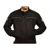 Bergen motoros kabát fekete