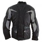 Roleff RO10003 motoros kabát fekete-szürke
