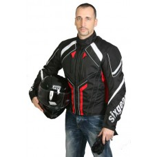Sixgear Sprtline motoros dzseki fekete-piros