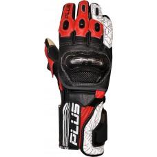 Plus racing Predator kesztyű fekete-piros