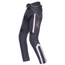 Tiana motoros női nadrág fekete-fehér-rózsaszín