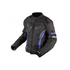 Adrenalin Sola motoros kabát fekete-kék