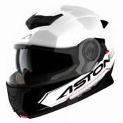 Astone RT 1200 felnyitható bukósisak fehér fekete KIFUTÓ!!!!