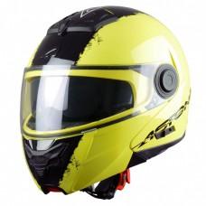 Astone RT 800 felnyitható bukósisak neon sárga