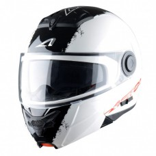 Astone RT 800 felnyitható bukósisak stripes fehér