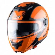 Astone RT 800 felnyitható bukósisak venom fekete-narancs