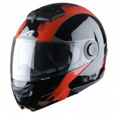 Astone RT 800 felnyitható bukósisak venom fekete-piros