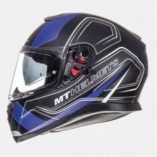 MT Thunder SV Trace zárt bukósisak matt fekete-kék