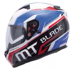 MT Blade SV Super R zárt bukósisak kék-fehér-piros