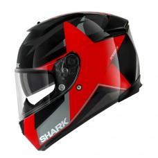 Shark Speed-R 2 Texas zárt bukósisak piros-fekete