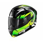Shark D-Skwal 2 Penxa  fekete-neon zöld