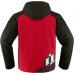 Icon TEAM MERC motoros dzseki piros