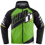 Icon TEAM MERC motoros dzseki zöld