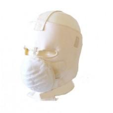 Katonai amerikai téli arcvédő maszk fehér