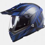 LS2 MX436 Pioneer Evo Master matt fekete-kék